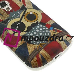 Gélové puzdro na Samsung Trend plus, S duos - UK sova - 5