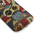 Gélové puzdro na Samsung Trend plus, S duos - UK sova - 5/6