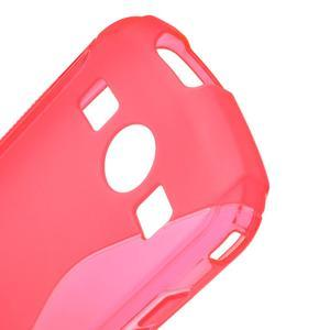 Gélové S-line puzdro na Samsung Galaxy Xcover 2 S7710- růžové - 5