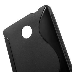 Gélové S-line puzdro na Nokia X dual- čierné - 5