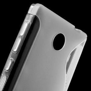 Gélové S-line puzdro na Nokia X dual- transparentný - 5