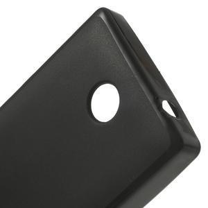 Gélové matné puzdro na Nokia X dual-čierné - 5