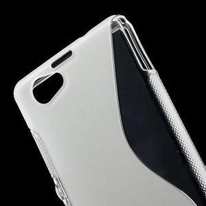 Gélové S-line puzdro na Sony Xperia Z1 Compact D5503- transparentný - 5