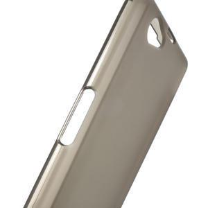 Gélové Ultraslim puzdro na Sony Xperia Z1 Compact D5503- šedé - 5