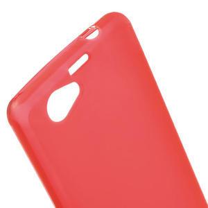 Gélové Ultraslim puzdro pre Sony Xperia Z1 Compact D5503- červené - 5