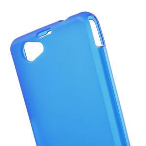 Gélové Ultraslim puzdro na Sony Xperia Z1 Compact D5503- modré - 5