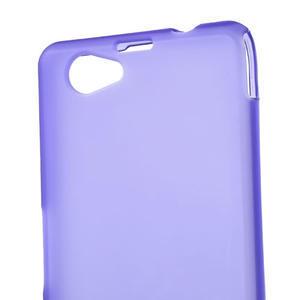 Gélové Ultraslim puzdro na Sony Xperia Z1 Compact D5503- fialové - 5