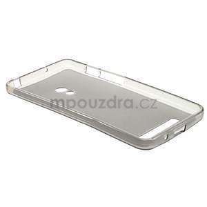 Gélové matné puzdro na Asus Zenfone 5 - šedé - 5
