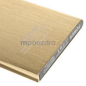 Luxusná kovová externá nabíjačka power bank 12 000 mAh - zlatá - 5