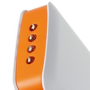 Vysokokapacitní externí nabíjačka PowerBank GT 11 800 mAh - oranžová - 5