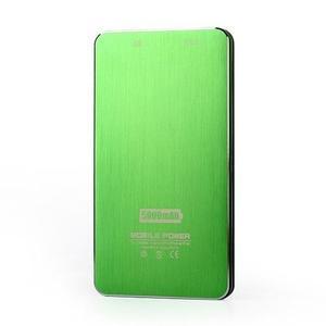 Slim GX externí nabíjačka PoweBank 5 000 mAh - zelená - 5