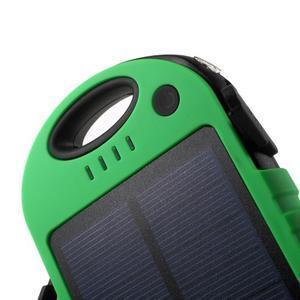 Outdoor GX vysokokapacitní externí solární nabíjačka 12 000 mAh - zelená/čierná - 5