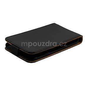 Flipové puzdro na Samsung Galaxy Xcover 3 - čierné - 5