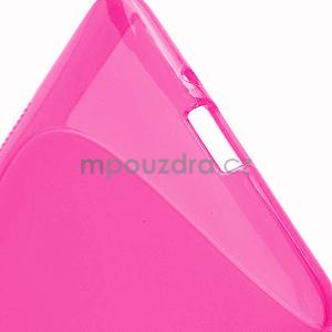 Gélové S-line puzdro pre HTC Desire 600- růžové - 5