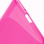 Gélové S-line puzdro pre HTC Desire 600- růžové - 5/6