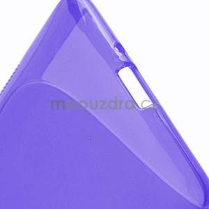 Gélové S-line puzdro pre HTC Desire 600- fialové - 5