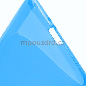 Gélové S-line puzdro pre HTC Desire 600- modré - 5