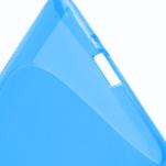 Gélové S-line puzdro pre HTC Desire 600- modré - 5/6