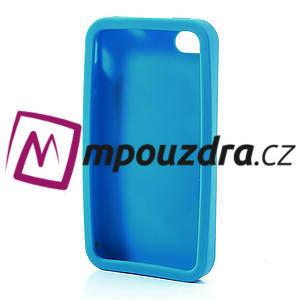 Silikonové puzdro na iPhone 4 4S - Santa Claus - 5
