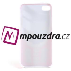 Telefon plastové puzdro na iPhone 4 4S - 5