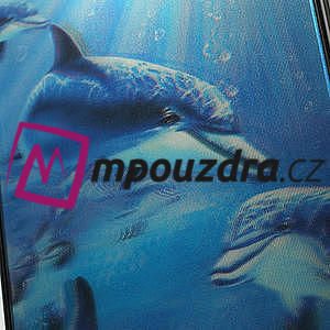 3D puzdro na iPhone 4 4S - delfín - 5
