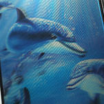 3D puzdro na iPhone 4 4S - delfín - 5/6