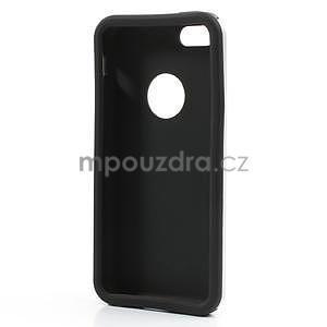 Gélové metalické puzdro pre iPhone 5C- biele - 5
