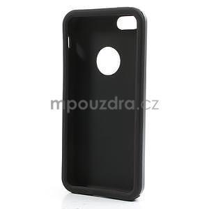 Gélové metalické puzdro pre iPhone 5C- šedé - 5