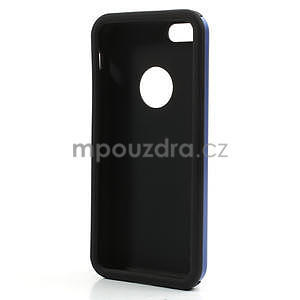 Gélové metalické puzdro pre iPhone 5C- modré - 5