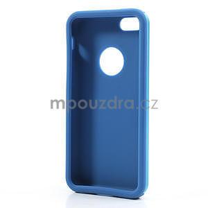 Gélové metalické puzdro pre iPhone 5C- svetlo modré - 5