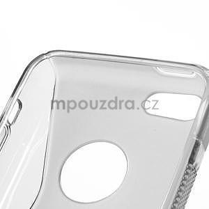 Gélové S-line puzdro pre iPhone 5C- šedé - 5