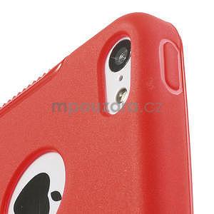 Gélové S-line puzdro pre iPhone 5C- červené - 5