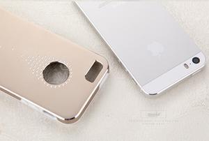 Hliníkové puzdro na iPhone 5, 5s- strieborné - 5