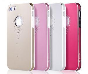 Hliníkové puzdro na iPhone 5, 5s- růžové - 5