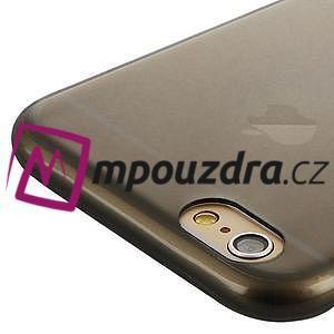 Ultra slim 0.7 mm gélové puzdro na iPhone 6, 4.7  - šedé - 5