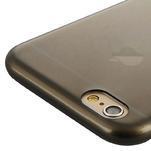 Ultra slim 0.7 mm gélové puzdro na iPhone 6, 4.7  - šedé - 5/7
