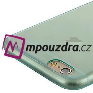 Ultra slim 0.7 mm gélové puzdro pre iPhone 6, 4.7  - modré - 5