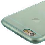 Ultra slim 0.7 mm gélové puzdro na iPhone 6, 4.7  - modré - 5/7
