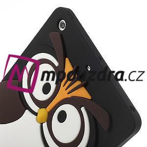 Silikonové puzdro na iPad mini 2 - hnědá sova - 5