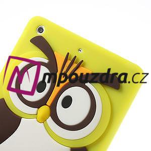 Silikonové puzdro na iPad mini 2 - žltá sova - 5