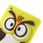 Silikonové puzdro na iPad mini 2 - žltá sova - 5/6
