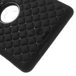 Hybridní kamínkové puzdro pre iPad mini- čierné - 5/7