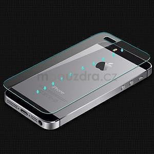 Tvrdené sklo na displej a zadní kryt pre iPhone 5 a 5s - 5