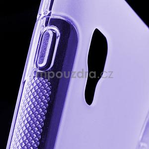 Gélové S-line  puzdro pre LG Optimus L5 II E460- fialové - 5