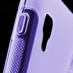 Gélové S-line  puzdro pre LG Optimus L5 II E460- fialové - 5/5