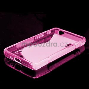 Gélové S-line  puzdro pre LG Optimus L5 II E460- růžové - 5