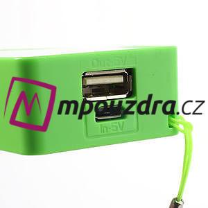 4000mAh externí baterie Power Bank - zelená - 5