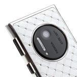 Drahokamové puzdro pre Nokia Lumia 1020- biele - 5/6