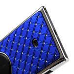 Drahokamové puzdro pre Nokia Lumia 1020- modré - 5/6