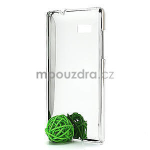 Drahokamové puzdro pre HTC Desire 600- ružové - 5